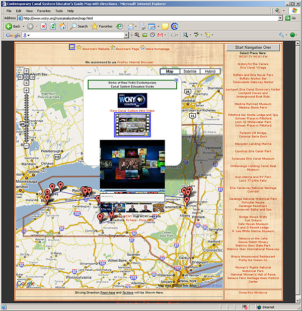 New York State Contemporary Canal System Educational Guide