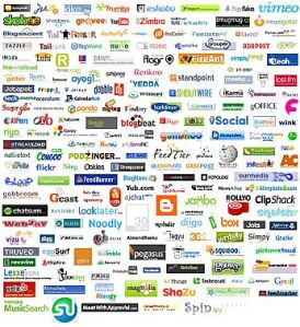 Professional-Networking Sites, Social-Media Sites and Social-Bookmarking Sites