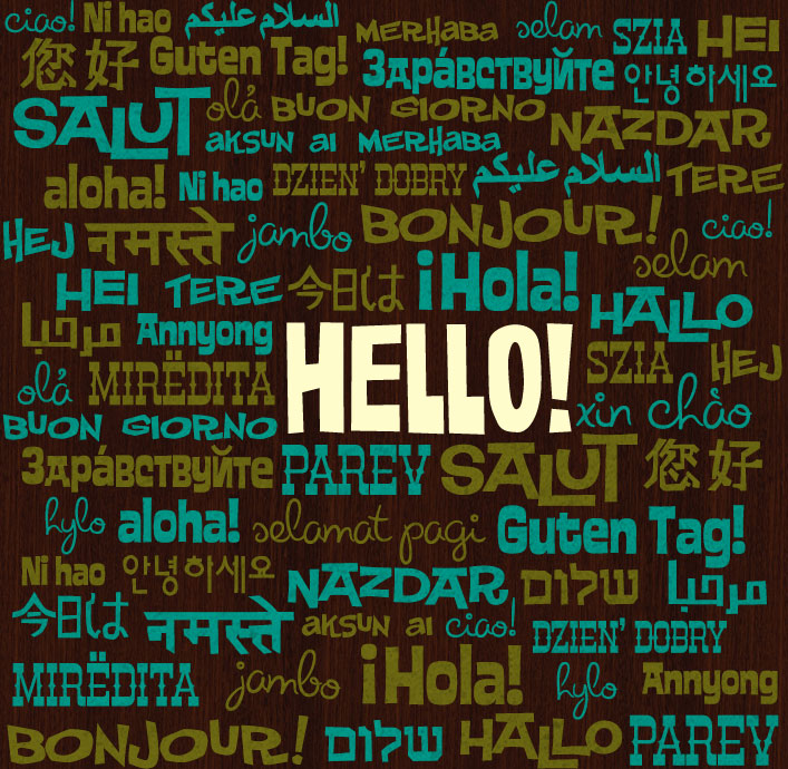 how to say hello and thank you in different languages? « social