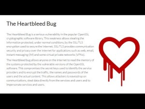 Change your password - Heartbleed Bug